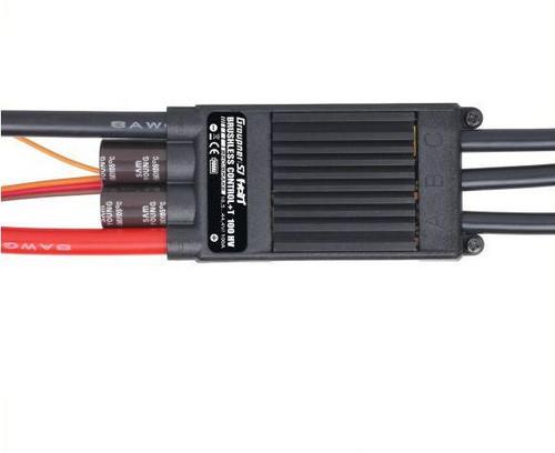 Brushless Control + T 100A HV ESC - BEC Telemetry