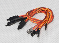 30 CM Servo Lead Extention (JR) With hook 26 AWG