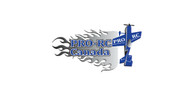 Pro RC Decal- BLUE-14x7 LEFT