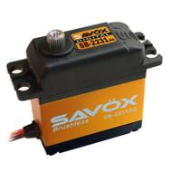 Savox SB-2231SG Ultra Fast Brushless Tall Size Steel Gear Digital Servo. 0.10/555