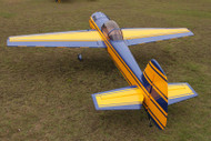 "Aeroplus 73"" YAK 55M 30CC Yellow/Blue"