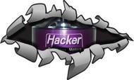 """Hacker Rip Away- 10"""" x 6"""""""