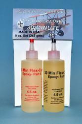 5 Minute Flex-Cure Epoxy 4.5oz Package Set