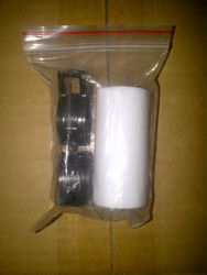 Teflon Coupler w/ clips for Muffler