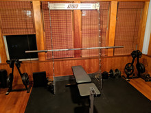 Squat Rack aka Jim Gym