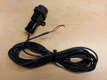 Inertial fuel cutoff switch with pigtail and wire