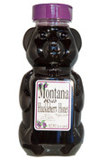 Wild Huckleberry Honey Bear 12 oz.