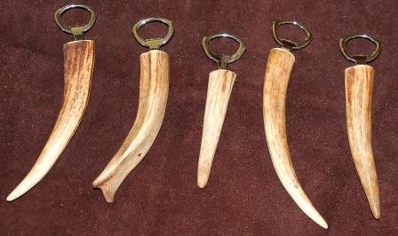Elk Antler Bottle Opener | Montana Made Elk Antler Bottle Opener