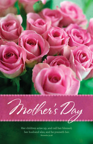 Mother's Day Bulletin B13510 (sold in units of 100) ONLY 1 unit left!