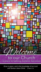 Welcome Pew Cards U1036 (sold in 50's)