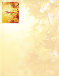 Thanksgiving Letterhead A-9346 (sold in units of 50)
