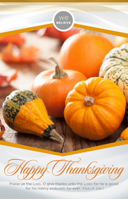 Thanksgiving Bulletin B28254 (sold in units of 100)