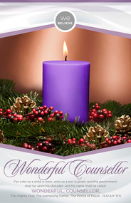 Advent Bulletin B28285 (sold in units of 100) ONLY 4 UNITS LEFT!