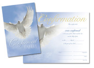 Keepsake 8.5x11 Confirmation Certificate A-2033 (sold packs 5)