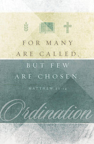 Ordination Bulletin B28223 (sold in units of 100) ONLY 4 units left!
