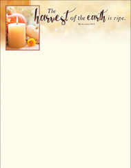 Thanksgiving Letterhead 3609LH (sold in units of 100) Only 6 units left!!