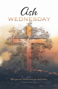Ash Wednesday Bulletin U3922 (sold in units of 100)