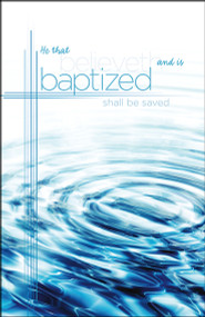 Baptism Bulletin A-4779 (sold in units of 50)