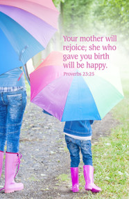 Mother's Day Bulletin 896910 (sold in units of 50)