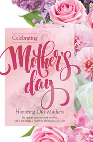 Mother's Day Bulletin B05795 (sold in units of 100)