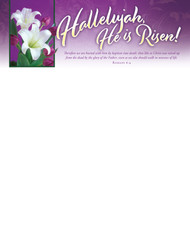 Easter Letterhead 3948LH (sold in units of 100)
