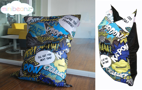 Comic Landing Pad Mini Beanz Bean Bags