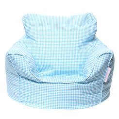 Toddler Lounge Blue Bean Bag