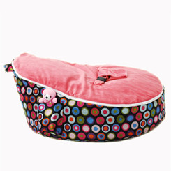Bubble Pink Bean Bag