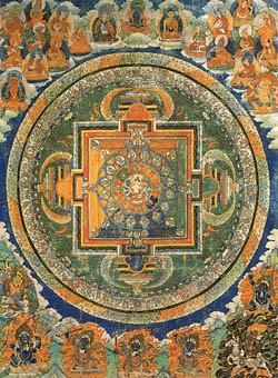 Tibetan Mandala Jigsaw Puzzle