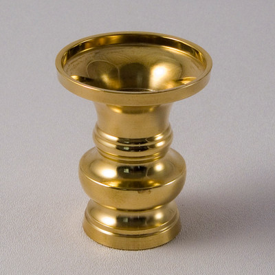 Brass Shrine Vase