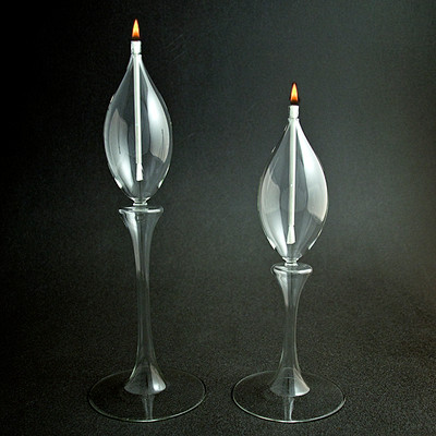 Oil Lamps - Waterlily Stem