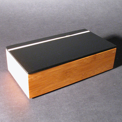 Bamboo Stripe Box