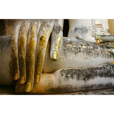Golden Buddha Hand Photo