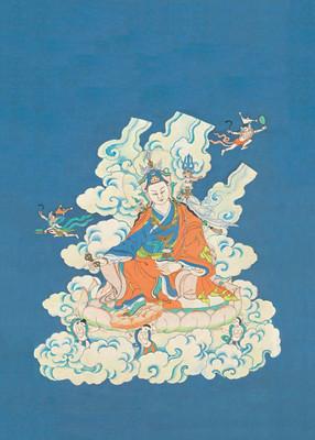 Vision of Guru Rinpoche Print