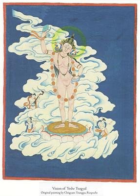 Vision of Yeshe Tsogyal Print