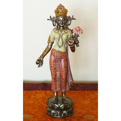 Standing Tara with Lotus