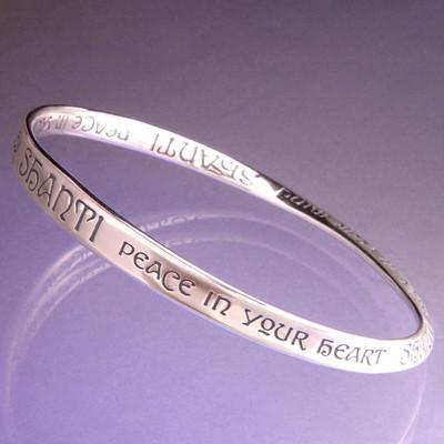 Shanti Sterling Silver Bracelet