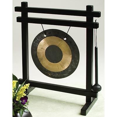Standing Brass Gong