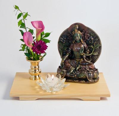 Green Tara Altar Set