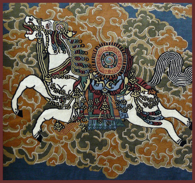 Tibetan Windhorse Carpet