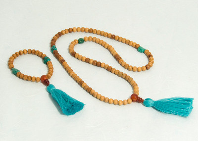 Light Sandalwood Malas