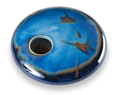 Blue Zen Round Vase