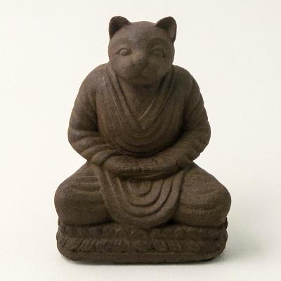 Zen Cat Statue