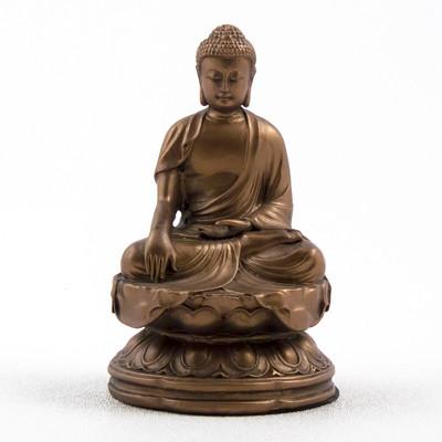 Japanese Earth Touching Buddha Statue