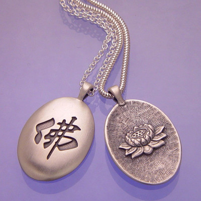 Buddhist Symbol Jewelry Lotus Pendants Chakra Necklaces Ziji