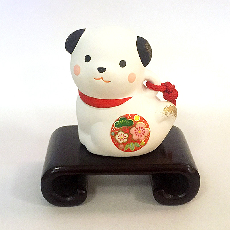 Year of the Dog Figurine, with our without wooden stand.