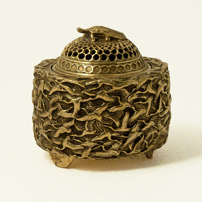 Thousand Crane Incense Burner