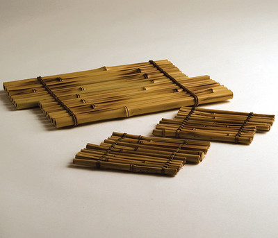 *Slatted Bamboo Stands