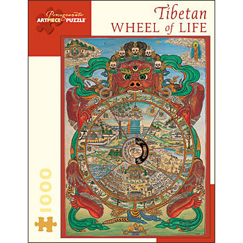 Tibetan Wheel of Life Jigsaw Puzzle