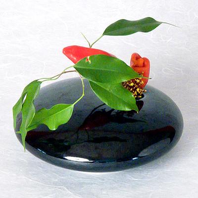 Onyx Round Vase